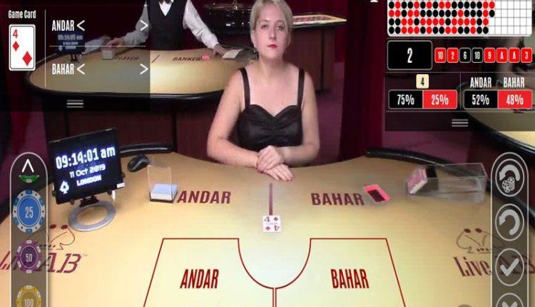 playing Live Andar Bahar